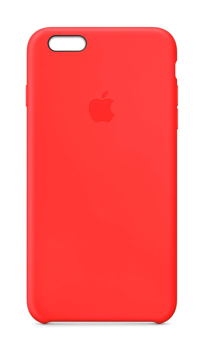 Silicon Case iPhone 6 Plus Red Hülle Apple 797836500000 Bild Nr. 1