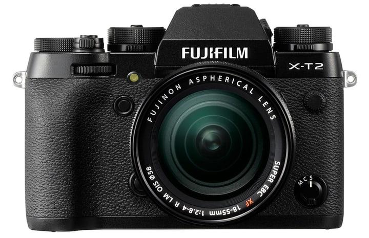 X-T2 XF 18-55mm schwarz Systemkamera Kit FUJIFILM 793429000000 Bild Nr. 1
