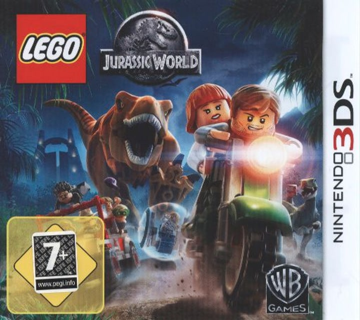 3DS - LEGO Jurassic World Fisico (Box) 785300121566 N. figura 1