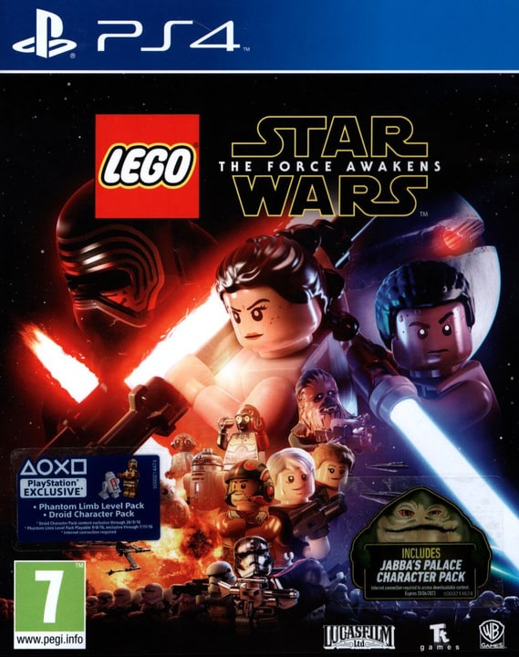 PS4 - LEGO Star Wars - The Force Awakens 785300121988