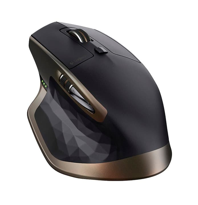 MX Master Wireless Mouse Black Souris wireless Logitech 797950100000 Photo no. 1