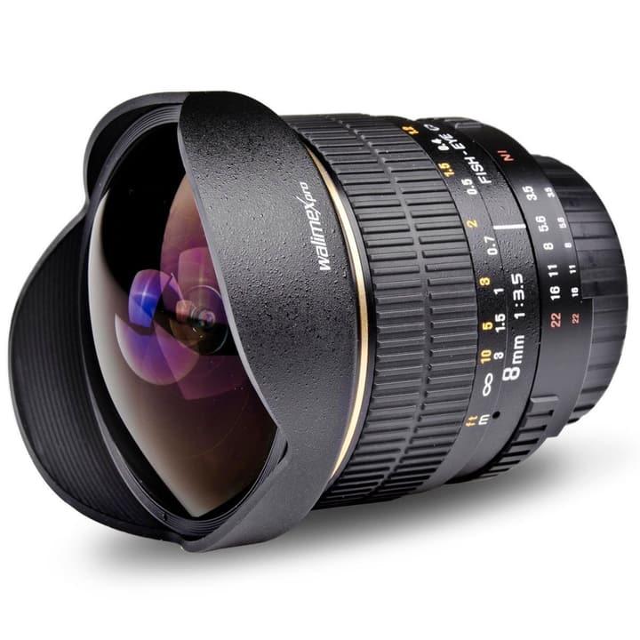 Walimex Pro - 8mm f/3,5 Fisheye AE Objectif pour Nikon Objectif Walimex 785300123450 Photo no. 1