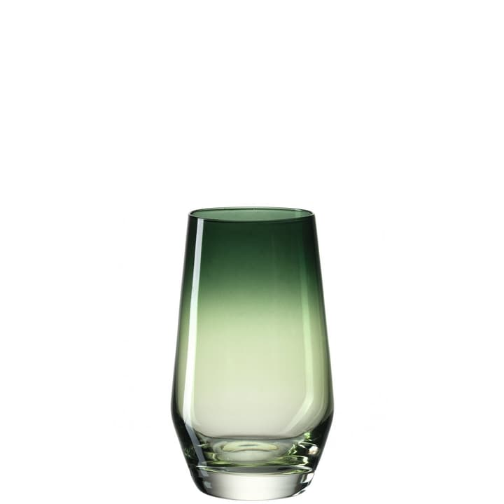 PLACIDE Verre à eau 440304500060 Couleur Vert Dimensions H: 13.0 cm Photo no. 1