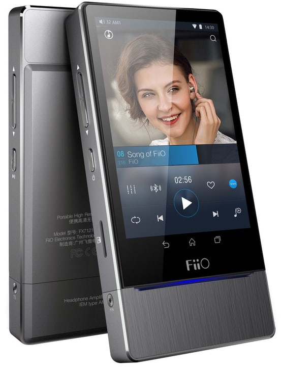 X7 Mk II - Titanium Hi-Res Player FiiO 785300144750 Photo no. 1