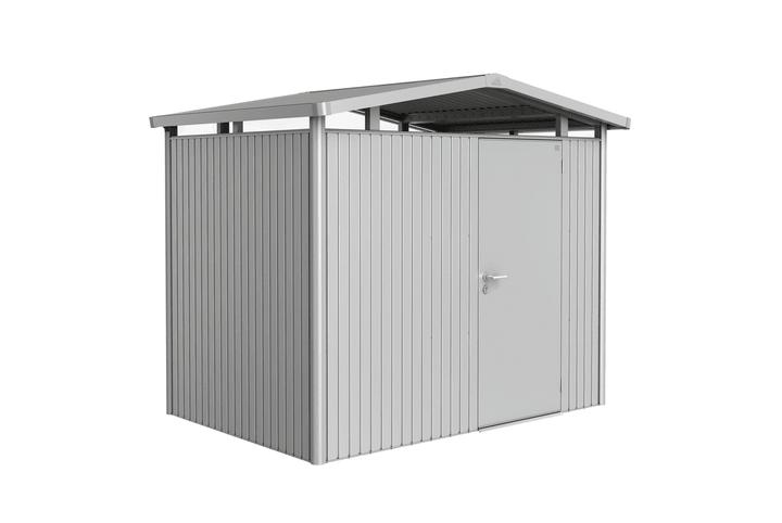 Gerätehaus Panorama P2 Biohort 647249900000 Farbe Silber-Metallic Bild Nr. 1