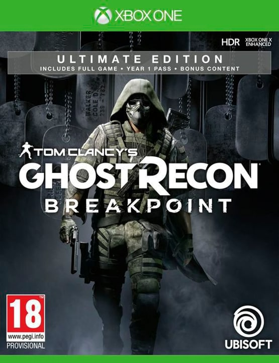Xbox One - Tom Clancy's Ghost Recon: Breakpoint - Ultimate Edition Box 785300144490 N. figura 1