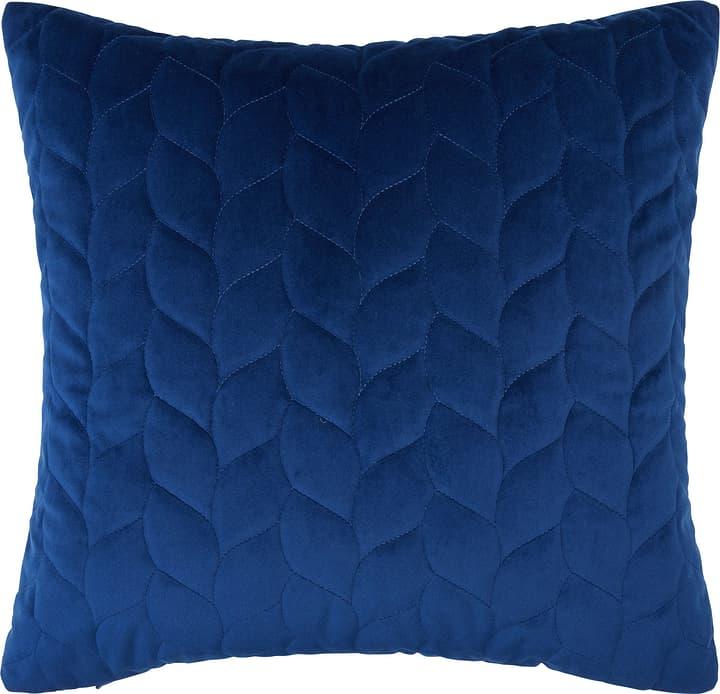 ALBERICA Coussin décoratif 450750640840 Couleur Bleu Dimensions L: 45.0 cm x H: 45.0 cm Photo no. 1