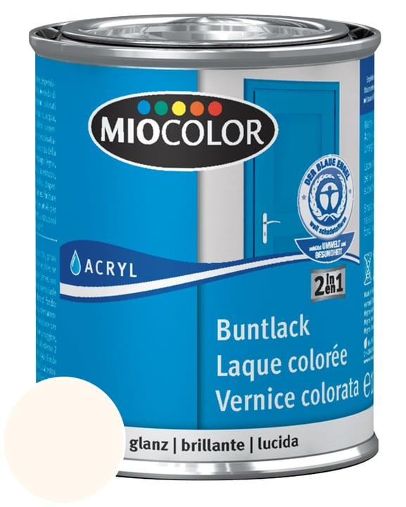 Acryl Vernice colorata lucida Miocolor 660539700000 Colore Bianco crema RAL 9001 Contenuto 125.0 ml N. figura 1