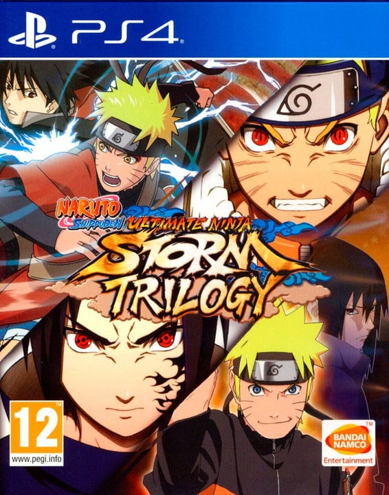 Naruto Ultimate Ninja Storm - Trilogy (PS4) (I) Box 785300131207 N. figura 1
