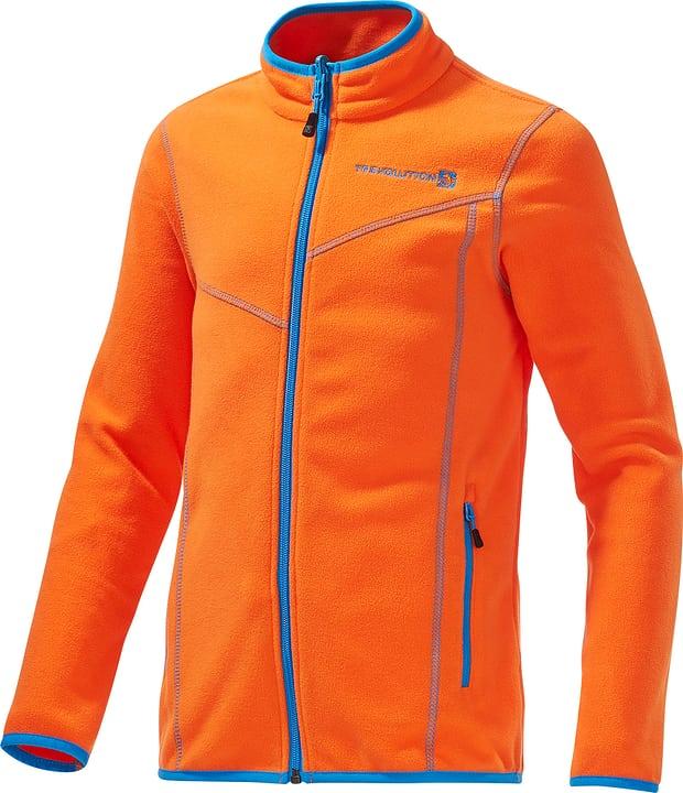Veste en polaire pour garçon Trevolution 464521512234 Couleur orange Taille 122 Photo no. 1