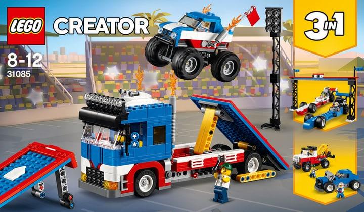 Lego Creator Truck dello Stuntman 31085 748880800000 N. figura 1