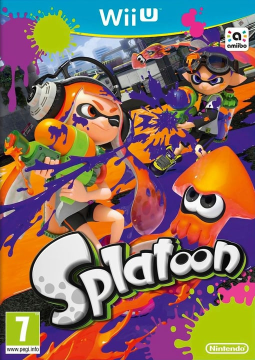 Wii U - Splatoon Physisch (Box) 785300119802 Bild Nr. 1