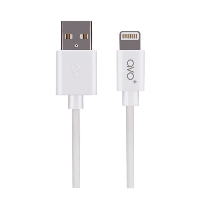 AVO+ Charge & Sync Cable MFI Lightning 1m weiss 798222200000 Bild Nr. 1