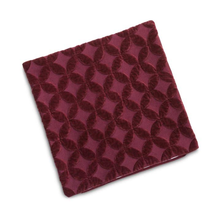 NERON Housse de coussin décoratif 378188840833 Dimensions L: 45.0 cm x H: 45.0 cm Couleur Rouge foncé Photo no. 1