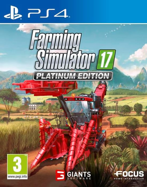 PS4 - Farming Simulator 2017 - Platinum Edition F Box 785300130443 Bild Nr. 1
