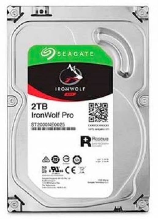 "IronWolf PRO 2To disque dur interne SATA 3.5"" HDD NAS Seagate 785300124637 Photo no. 1"
