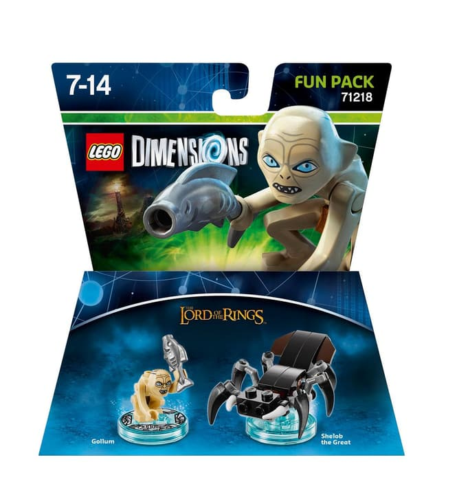 "LEGO Dimensions Fun Pack Lord of the Rings ""Gollum"" Fisico (Box) 785300119848 N. figura 1"