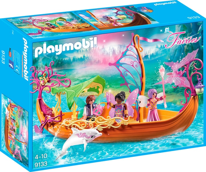 Playmobil Fairies Romantisches Feenschiff 9133 746078200000 Bild Nr. 1