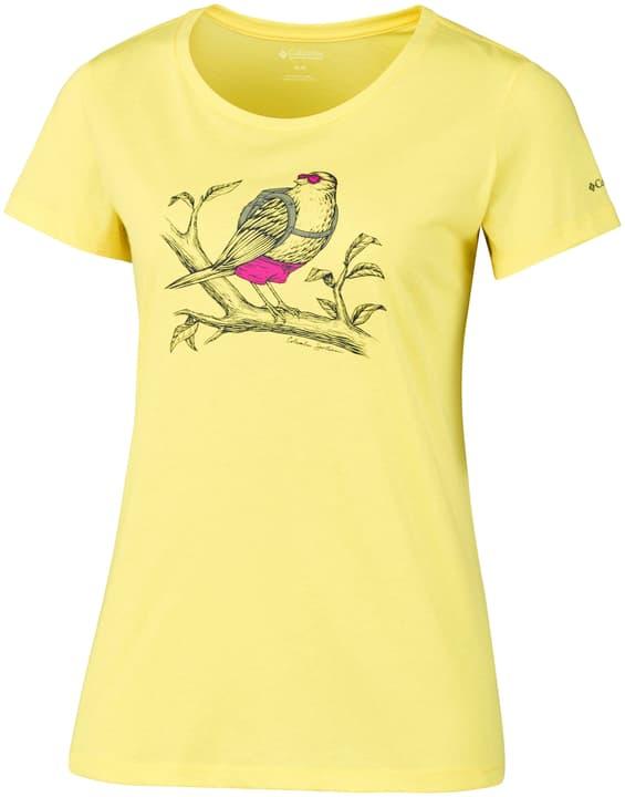 Birdy Buddy Maillot à manches courtes pour femme Columbia 462737600650 Couleur jaune Taille XL Photo no. 1
