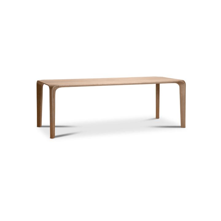 FLOW Table 366030024903 Dimensions L: 200.0 cm x P: 95.0 cm x H: 75.0 cm Couleur Chêne Photo no. 1
