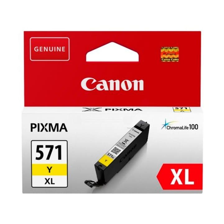 CLI-571XL Tintenpatrone XL gelb Canon 795845000000 Bild Nr. 1