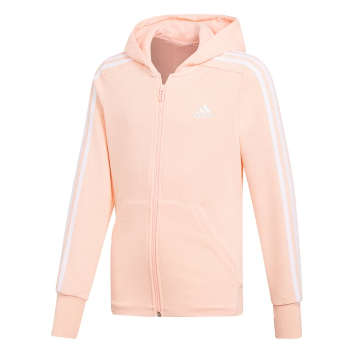 3S Full Zip Hoodie Veste à capuche pour fille Adidas 464564712852 Couleur saumon Taille 128 Photo no. 1