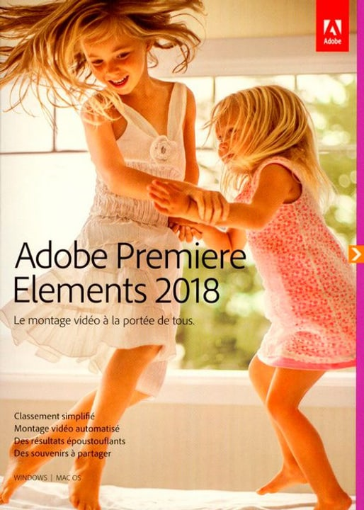 PC/Mac - Premiere Elements 2018 (F) Physique (Box) Adobe 785300130201 Photo no. 1