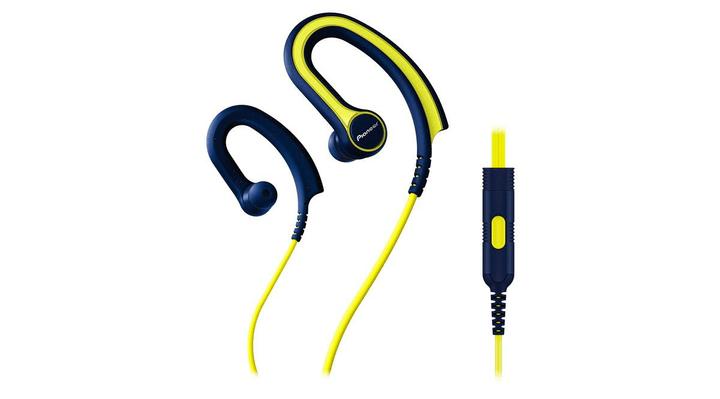 SE-E711T-Y Cuffia In-Ear sport giallo Pioneer 785300122820 N. figura 1