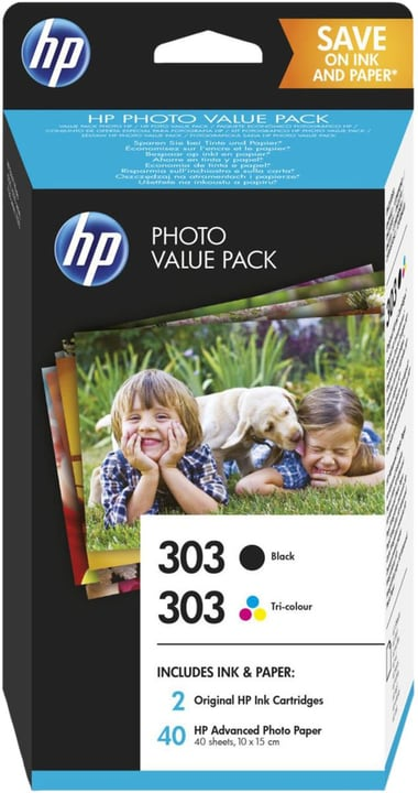 303 Valuepack inkl. Photo Paper Cartouche d'encre HP 798543400000 Photo no. 1