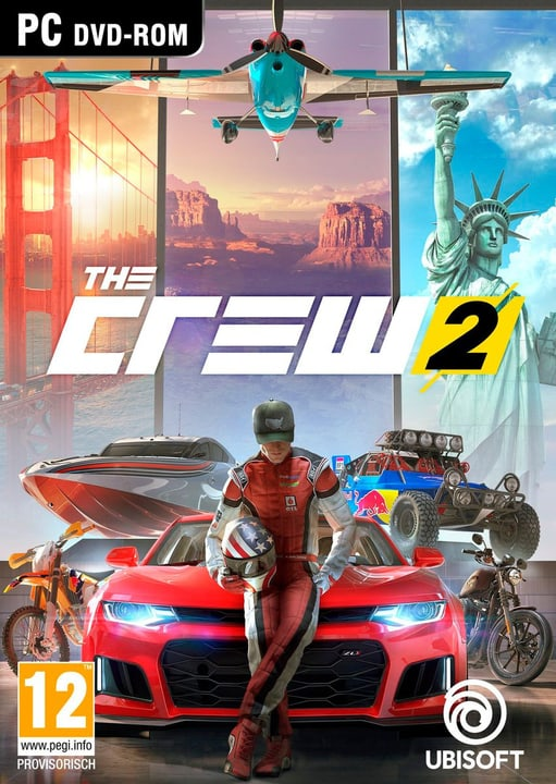 PC - The Crew 2 Physique (Box) 785300128750 Langue Français, Allemand, Italien Plate-forme PC Photo no. 1