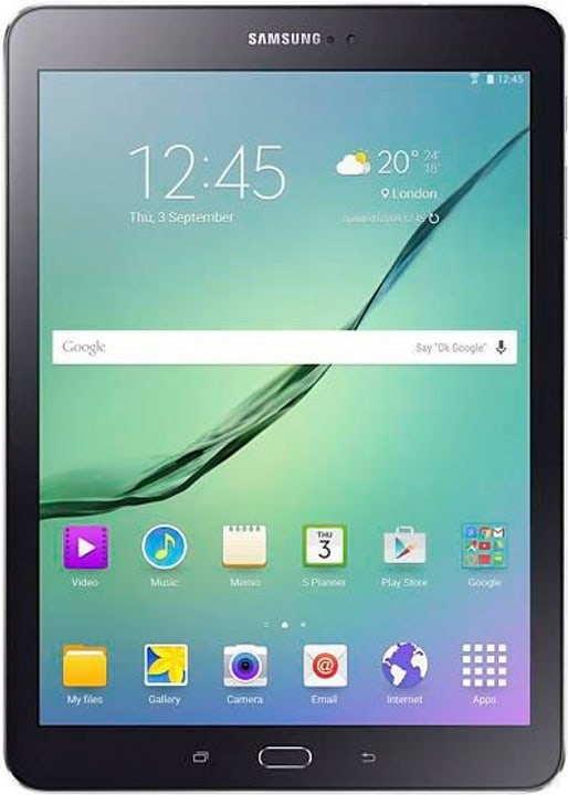 Galaxy Tab S2 T819, 32GB, LTE Value Edition, noir Tablette Samsung 785300122999 Photo no. 1