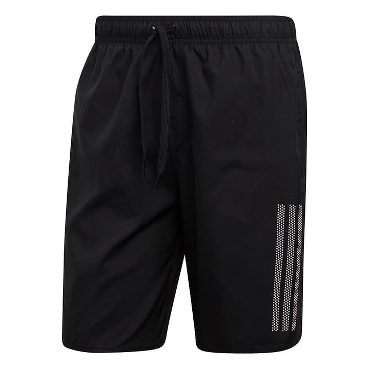 3 stripe short classic-length Short de bain pour homme Adidas 463139400320 Couleur noir Taille S Photo no. 1