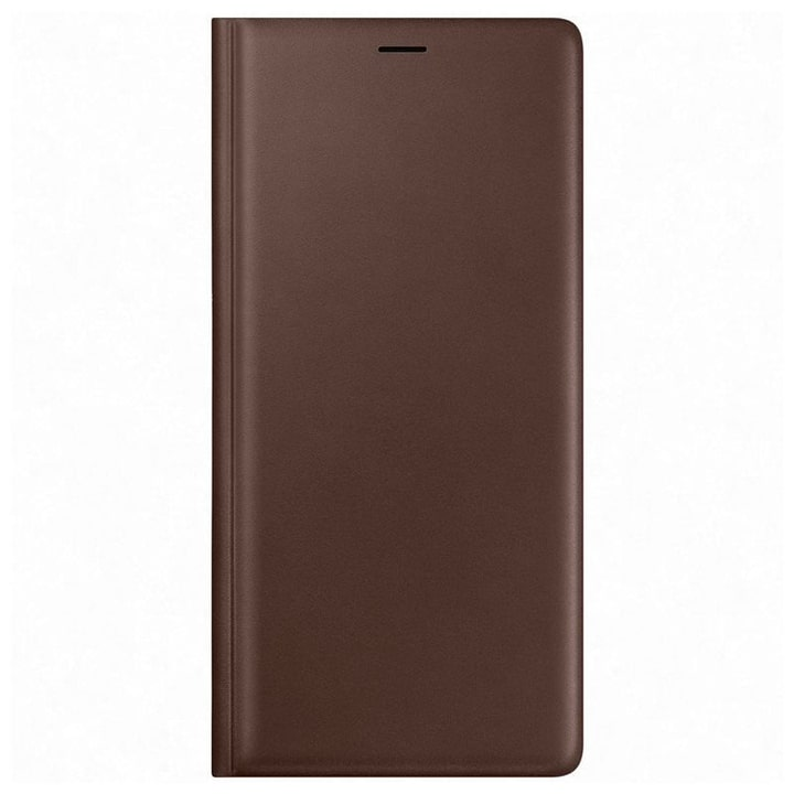 Leather View Cover marron Coque Samsung 785300138249 Photo no. 1