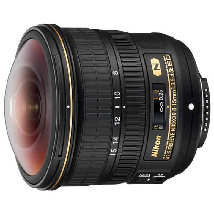 AF-S Fisheye NIKKOR 8-15mm f/3.5-4.5E ED Objectif Nikon 785300130019 Photo no. 1