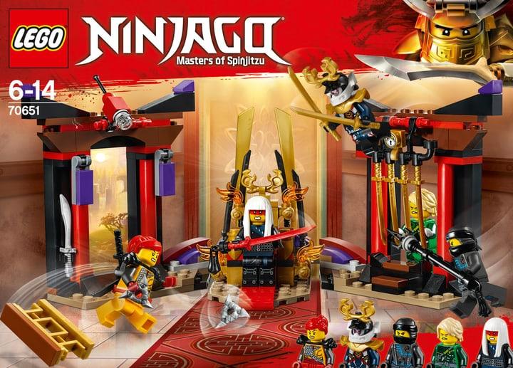 Lego Ninjago Duell im Thronsaal 70651 748881200000 Bild Nr. 1