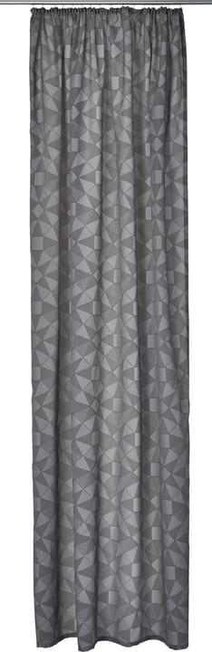 EMILIO Rideau prêt à poser opaque 430275522083 Couleur Gris foncé Dimensions L: 150.0 cm x H: 270.0 cm Photo no. 1