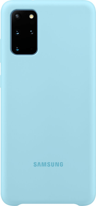 Silicone Cover sky blue Hülle Samsung 785300151175 Bild Nr. 1