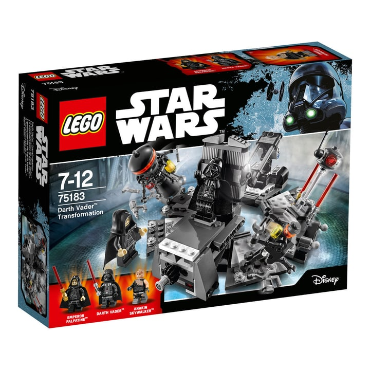 LEGO Star Wars Darth Vader Transformation 75183 748843100000 Bild Nr. 1