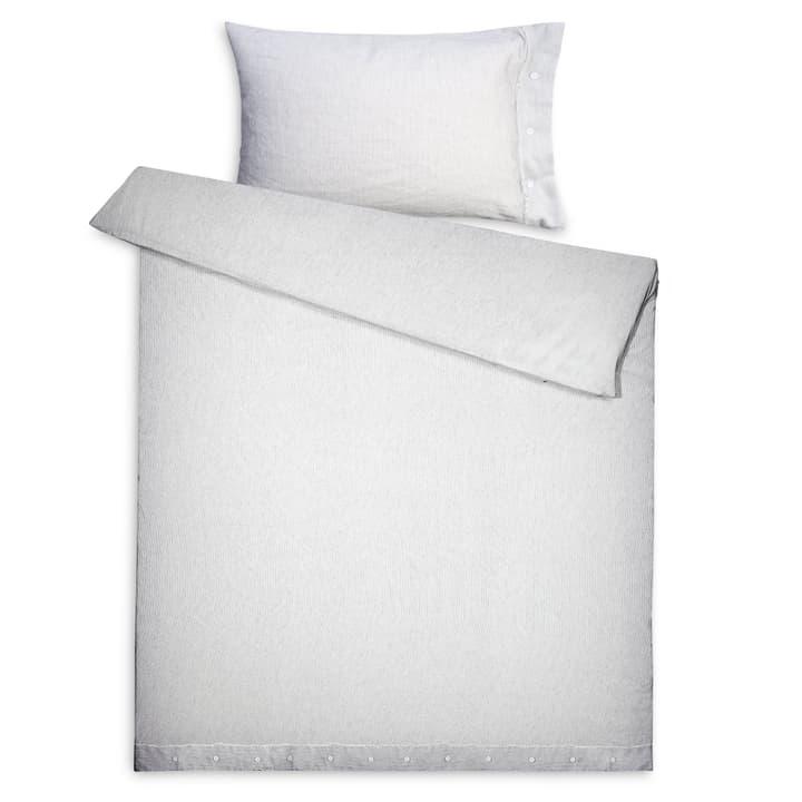 MIZAR Federa per cuscino cotone/lino 376026067103 Colore Grigio a righe Dimensioni L: 100.0 cm x L: 65.0 cm N. figura 1