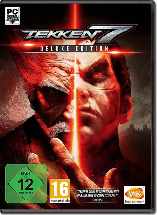 PC - Tekken 7 - Deluxe Edition - D/F/I Digitale (ESD) 785300134394 N. figura 1