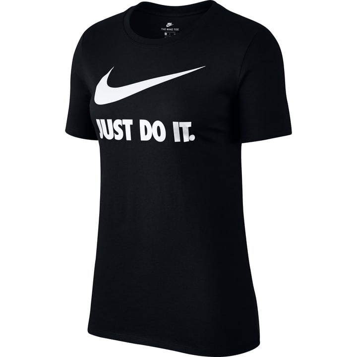 "Sportswear ""Just Do It"" T-Shirt T-shirt pour femme Nike 462379300620 Couleur noir Taille XL Photo no. 1"