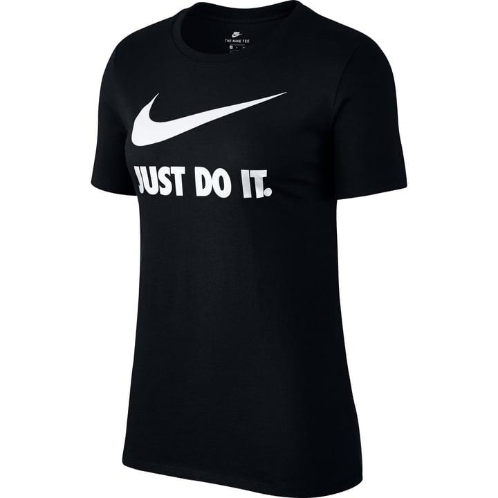 "Sportswear ""Just Do It"" T-Shirt Damen-T-Shirt Nike 462379300520 Farbe schwarz Grösse L Bild-Nr. 1"