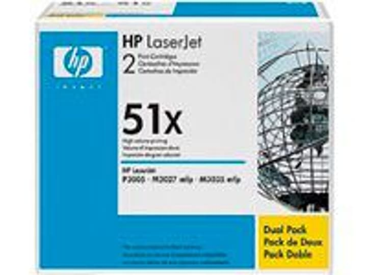 Toner, noir, Twinpack HP 785300125131 Photo no. 1