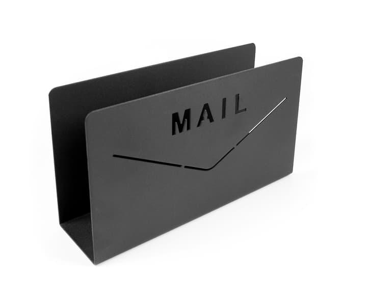 MAIL Briefhalter 440719000000 Farbe Schwarz Grösse B: 18.0 cm x T: 5.0 cm x H: 10.0 cm Bild Nr. 1