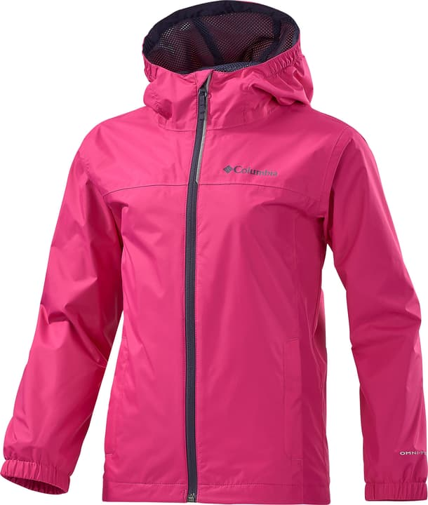 Mädchen-Regenjacke Columbia 466907514029 Farbe pink Grösse 140 Bild-Nr. 1