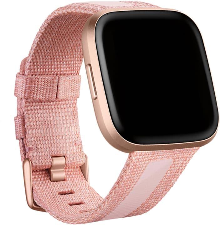 Versa 2 Woven Hybrid Armband Pink Large Sportarmband Fitbit 785300149768 Bild Nr. 1