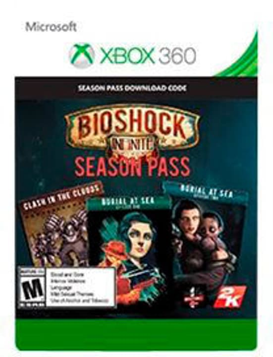Xbox 360 - BioShock Infinite Season Pass 785300135421 Photo no. 1
