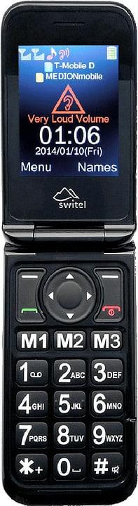 M800 Dual SIM schwarz Mobiltelefon Switel 785300128363 Bild Nr. 1