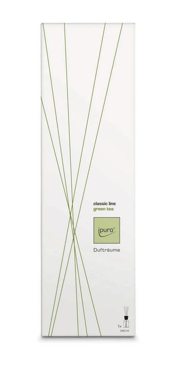 Classic Line green tea, 240ml Ipuro 656138300013 Grösse L: 11.0 cm x B: 7.9 cm x H: 36.3 cm Bild Nr. 1
