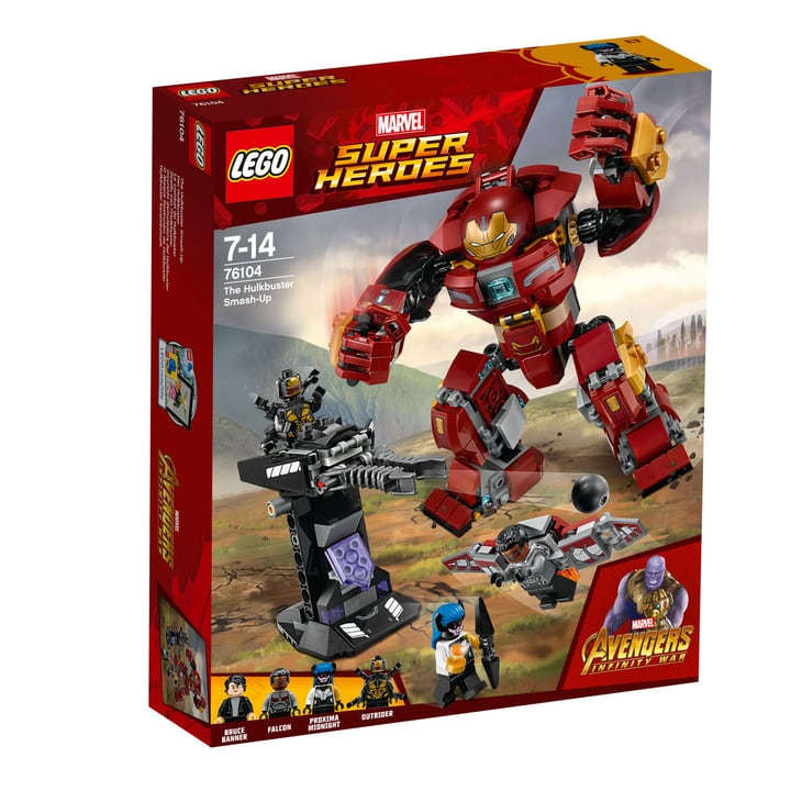 Lego Marvel Super Heroes 76104 748876500000 Photo no. 1